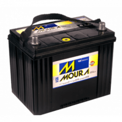 BATERIA AUTOMOTIVA MOURA 80Ah - M80RD / M80RE