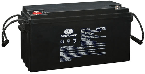 BATERIA GET POWER VRLA 12V 70AH - GP12-70