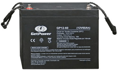 BATERIA GETPOWER VRLA 12V 60AH - GP12-60